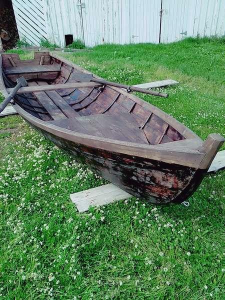 купить одноместную лодку бу