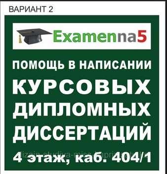 Написание дипломных работ омск 3482