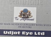 Ожерелье Udjat Eye Ltd, Swarovski. Оригинал