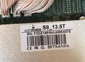 Antminer S9 13, 5 (SN: DT09RE BD-0653)
