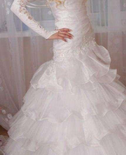 4ebb7794811648e Свадебное платье — Цена 3 300 рублей — Свадебные платья в Костроме