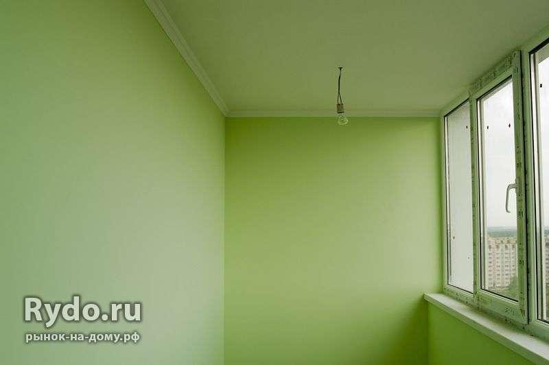 Покраска. шпаклевка балкона в липецке, цена 100 рублей.