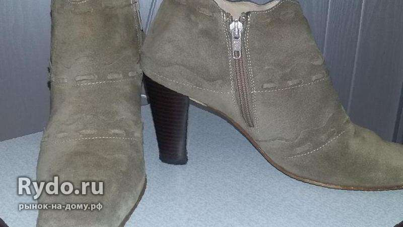 Продаю ботильоны — Цена 330 рублей — Женская обувь в Эрзин 3232c46a188