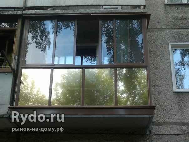 Ремонт балконов и лоджий в белгороде :обшивка, остекление, о.