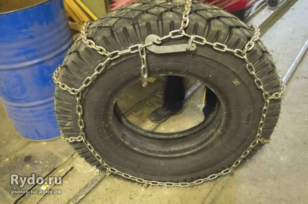 Как сделать цепи противоскольжения на колеса своими руками