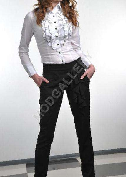 Стмльные молодежные брюки тм VoOlya 81e1796626fbe