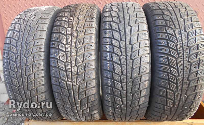 Шины б/у зима Michelin X-Ice North 195/65 R-15, 4 шт., шипы