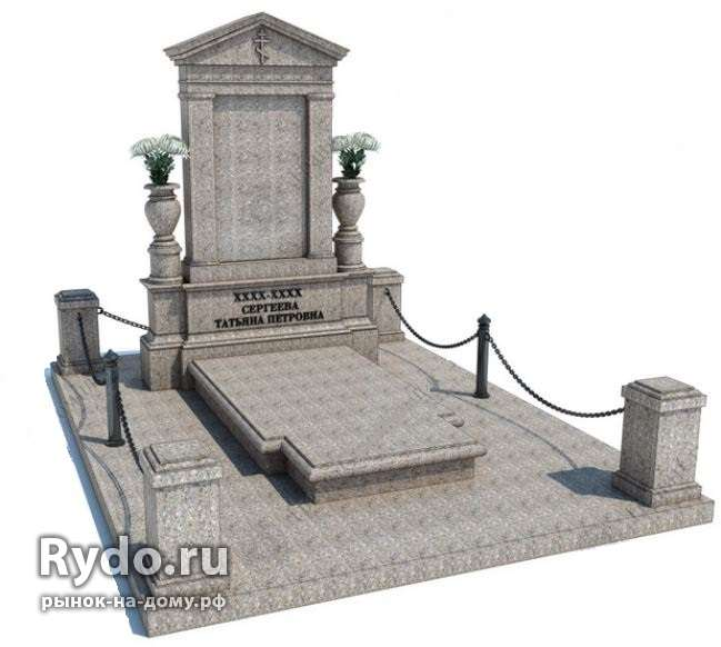 Заказать памятник Аркадак Мраморный крестик Валдай