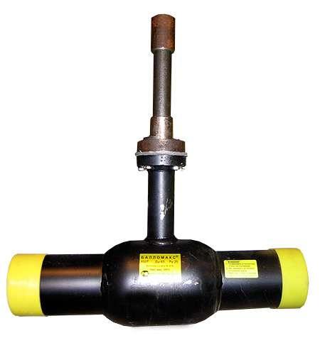 Заслонка дроссельная газовая с электроприводом для ГРП Ду-80