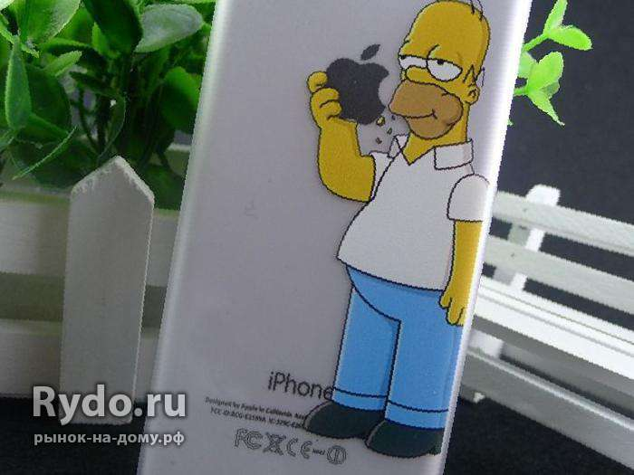 "Чехол для iPhone 6 (4. 7) ""The Homer Simpsons"", бу"
