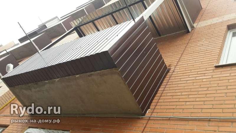 Сварка на балконах, остекление балконов и лоджий, строительс.