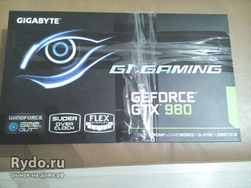 Gygabyte Geforce GTX 980 G1 Gaming новая