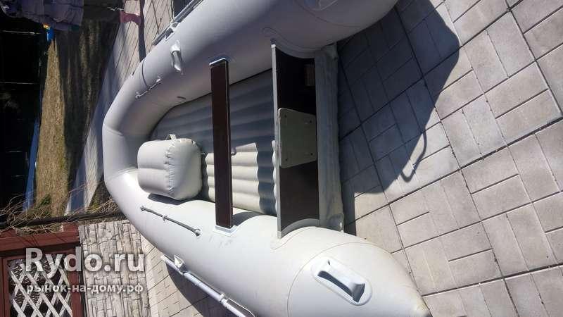 лодка ротан 380 с надувным дном