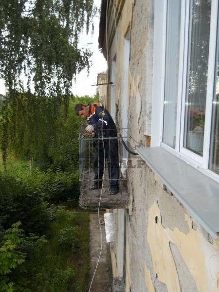 Ремонт балконных плит, парапета, перил, решетки . в новосиби.