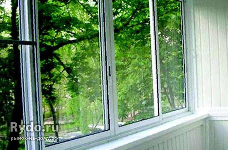 Окна лоджии балконы - окна в морозовске.