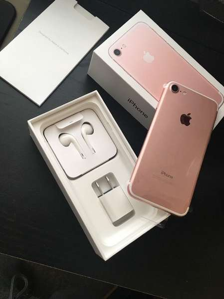 Apple iPhone 7  32GB...$450/Apple iPhone 7 Plus 128GB Jet Black...$550