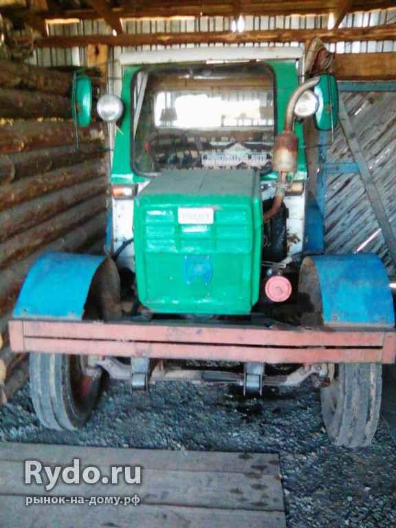 Самодельные трактора в кемеровской области