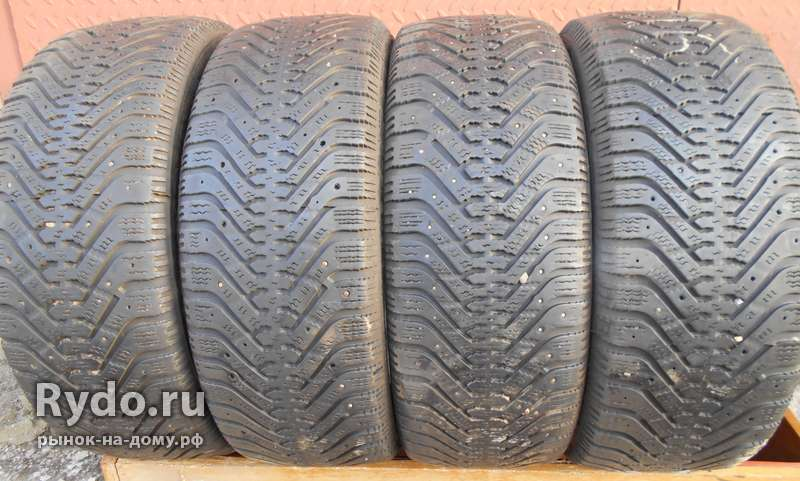 Шины б/у зима Goodyear Ultra Grip500 205/55 R-16, 4 шт.