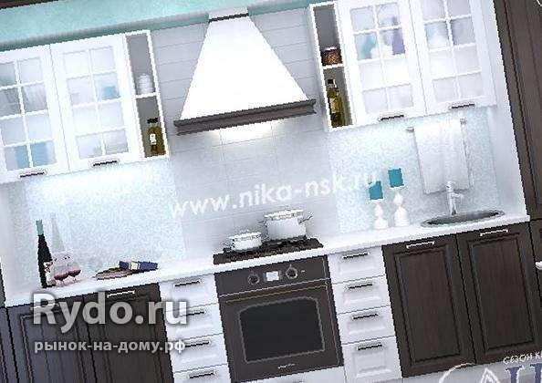 Кухня Прага 2,7м венге/белое дерево - купить по лучшей цене в Новосибирске  от компании