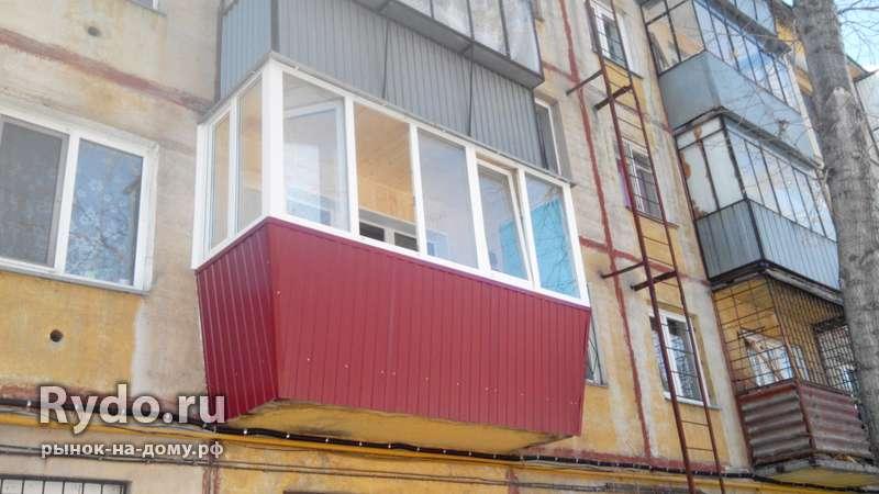 Остекление балконов и лоджий. окна пвх. в Челябинске, цена 1.