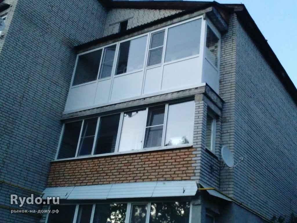 Балконы. лоджии. крыши последних этажей. наружняя и внутренн.