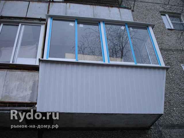Екатеринбург - остекление на балкон.