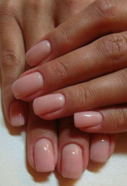 Укрепление ногтей гель лаком цвета