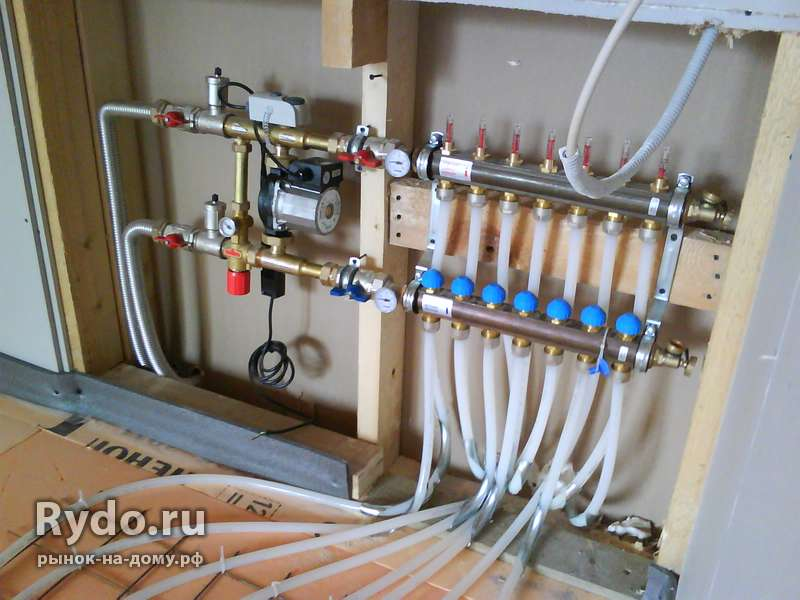 Монтаж радиаторов отопления в частном доме цена