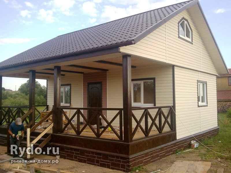 Как построить дом своими руками дешево и