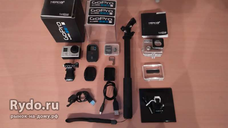 Продам Go pro hero 3+ black edition
