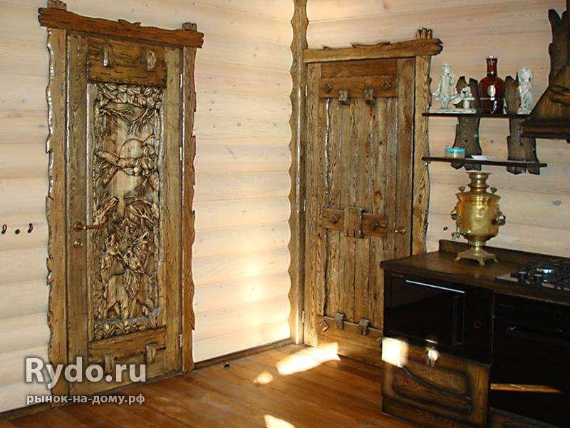 Дверь из лиственницы цена, где купить в Москве