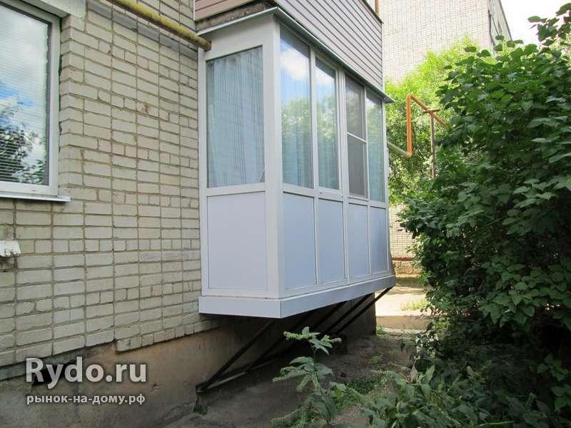 Изготовление и установка приставных балконов в хабаровске - .