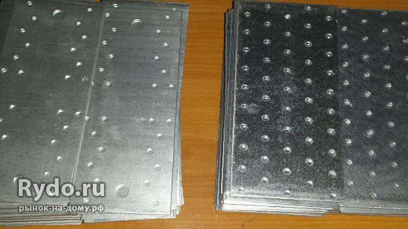 Как сделать металлические пластины 100