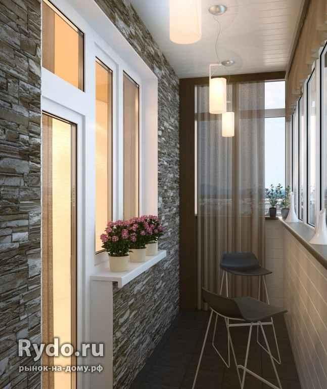 """Дизайн и отделка балкона в хрущевке строительный портал"""" - к."""