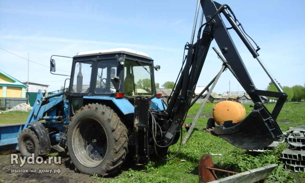 67 объявлений - Продажа б/у тракторов МТЗ с пробегом.