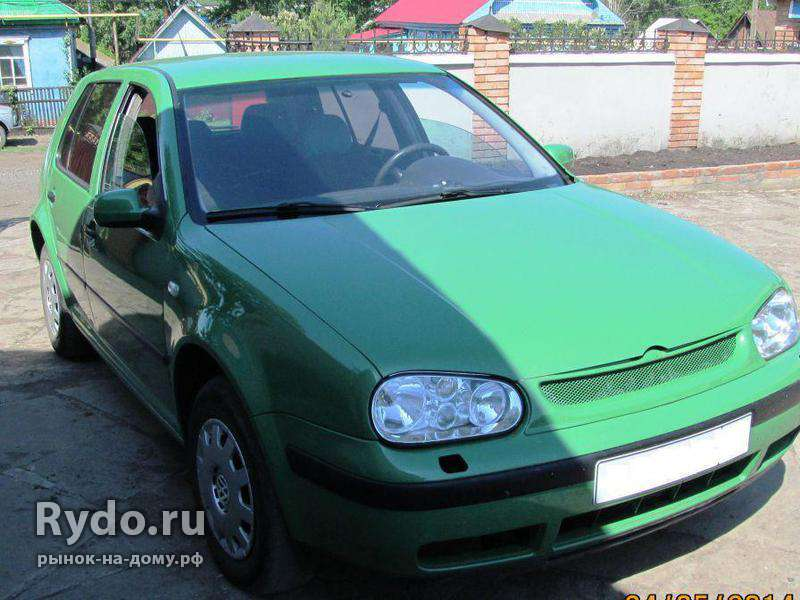 Volkswagen Golf, 1999, с пробегом 244900 км.