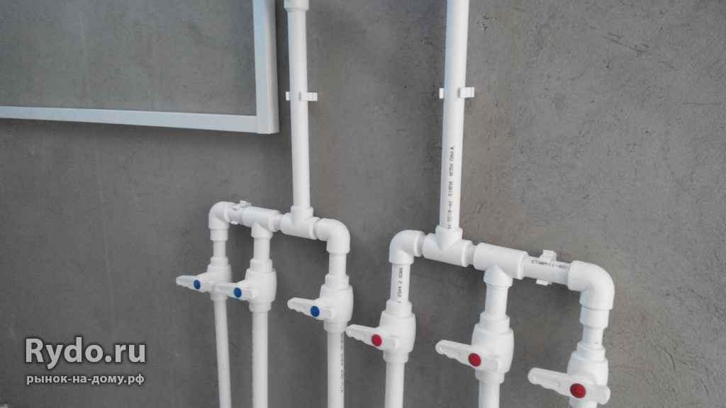 Монтаж водопровода из пластиковых труб своими руками 8