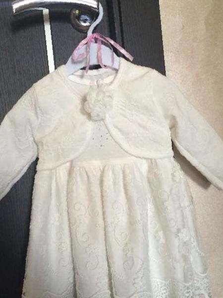 bf1981a591f Платье с болеро и пинетки-туфельки — Цена 1 150 рублей — Детские ...