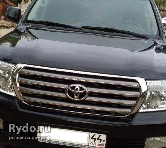 Toyota Land Cruiser, 2011, бу с пробегом 124900 км.