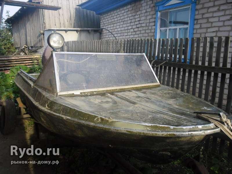 лодка обь с мотором б у на авито