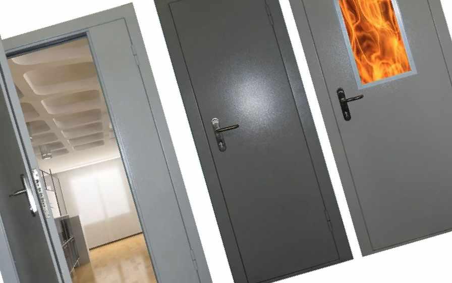 дверь металлическая противопожарная дорогая