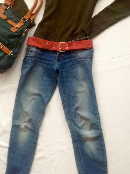 Заузить джинсы в домашних условиях 158