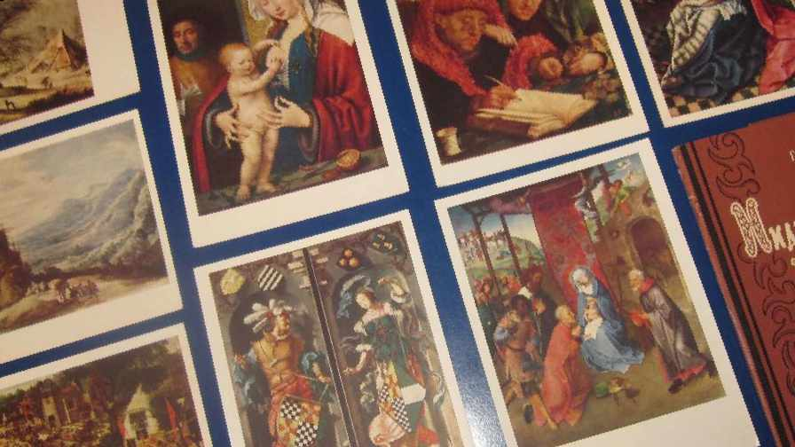 Набор открыток живопись 55