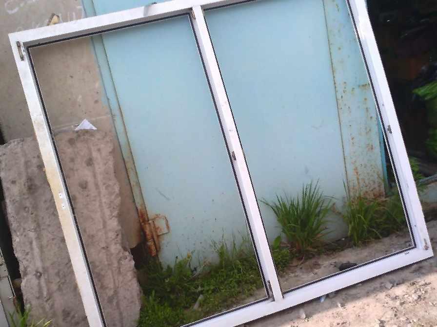 Части пластикового окна