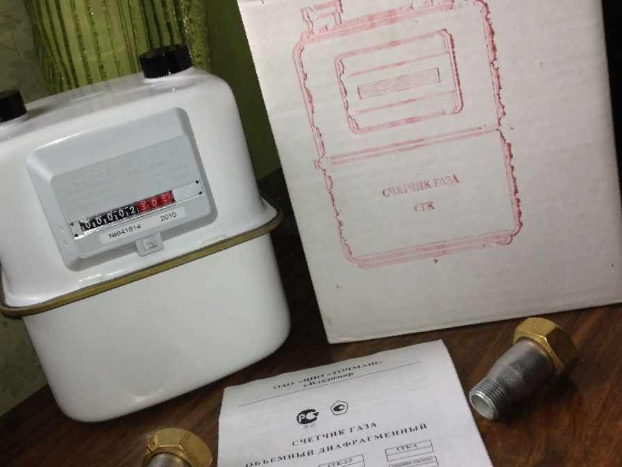 газовый счетчик сгк 1 6