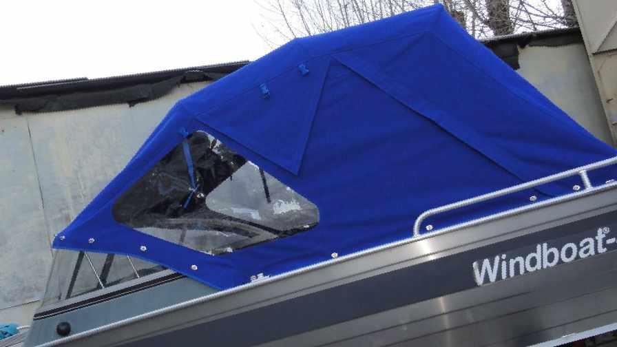 Тент на алюминиевую лодку своими руками 488