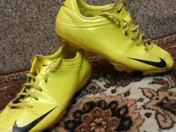 f54b0071 Футбольные бутсы Nike Mercurial Vapor IV, б/у — Цена 1 500 рублей ...