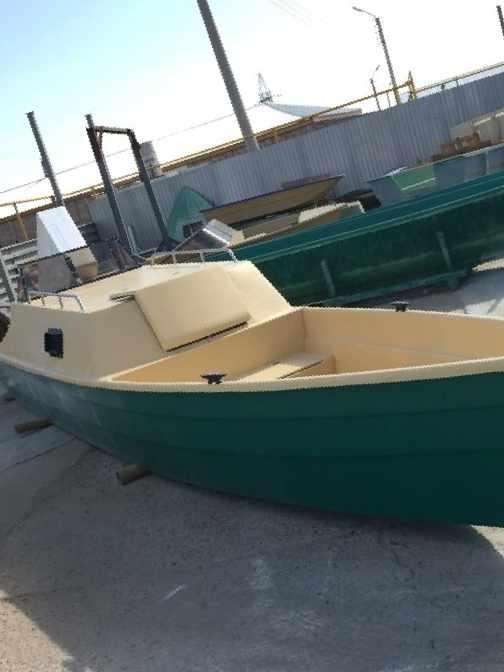 пластиковая лодка типа бударка с каютой и туннель в астрахани