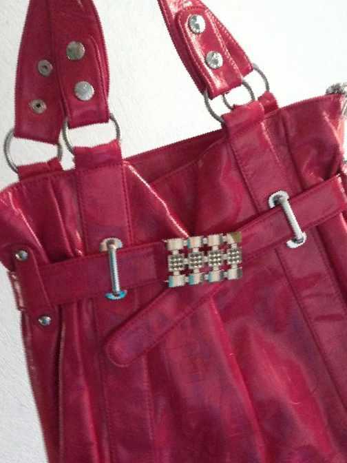 786ff786a199 Розовая лакированная кожаная сумка, б/у — Цена 1 500 рублей — Одежда ...