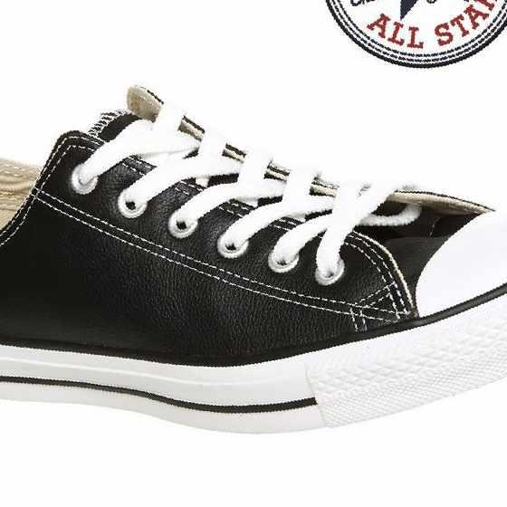 cae18abe0810 Кеды Converse Chuck Taylor All Star Black Leather, б у — Цена 4 950 ...